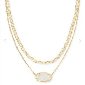 Kendra Scott Elisa Gold Multi Strand Necklace